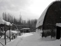 Huronia Museum & Huron-Ouendat Village in Winter