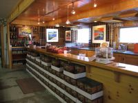Tasting bar at Muskoka Lakes Winery