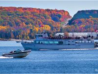 Miss Midland cruise boat in Fall