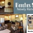 Did you know our newly renovated Beeches Suites are a full 7 night rental in the summer season? They have waterfront views, with some units being right beside the beach! Sounds like the perfect summer getaway to me!  Book now!