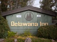 Delawana Resort sign
